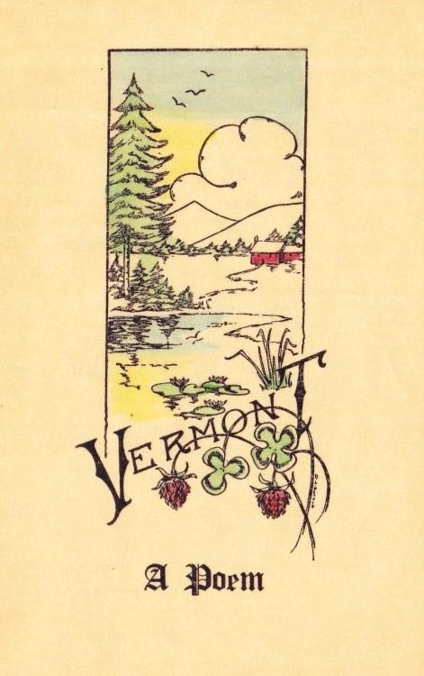 Vermont Poem Illustration
