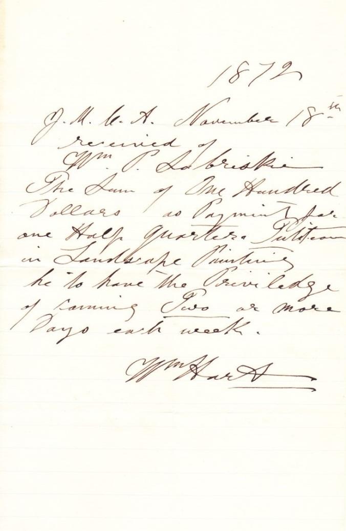 Zabriskie, William Pell 1872 Lessons
