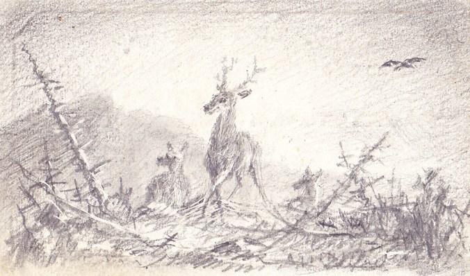 Zabriskie, William Pell Drawing