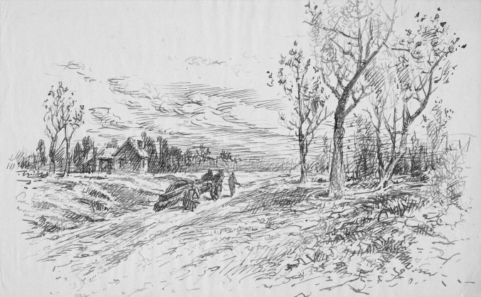 William Pell Zabriskie Drawing
