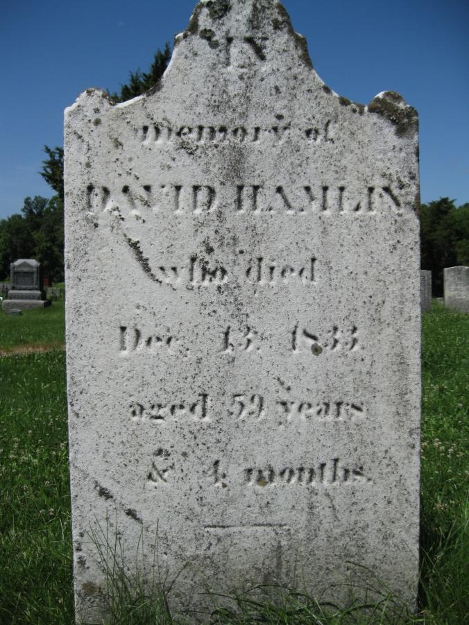 Hamlin, David 1833