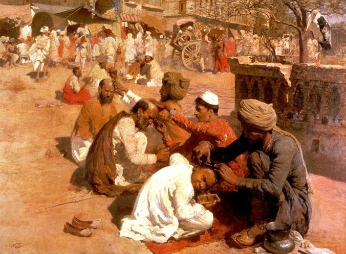 800px-Weeks_Edwin_Lord_Indian_Barbers_Saharanpore