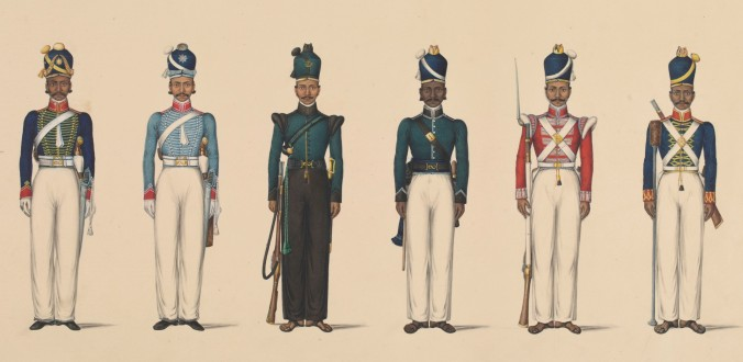 Six_figures_depicting_military_uniforms