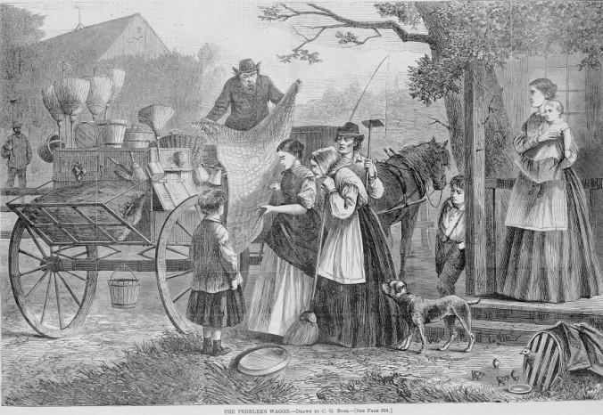 The_peddler's_wagon_-_drawn_by_C.G._Bush._LCCN2004669981