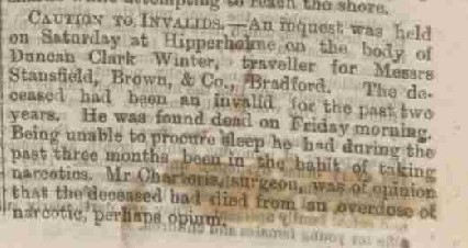 Winter, Duncan Clark 1874 Inquest Edinburgh Evening News 16 Jun