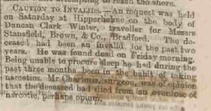 Winter, Duncan Clark 1874 Inquest Edinburgh Evening News 16 Jun