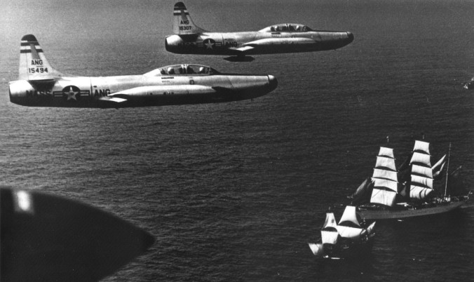 f-94bs_101st_adc_over_mayflower_ii_1957