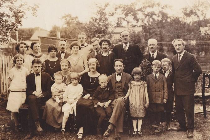 Thurber Family 1926